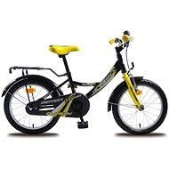 """Olpran Démon žlto / čierny - Detský bicykel 16"""""""