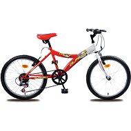 Olpran MTB Lucky bielo/červený - Detský bicykel