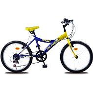 Olpran MTB Lucky žlto/modrý - Detský bicykel