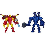 Avengers Hero Mashers- Iron man vs. Iron Monger - Súprava figúrok