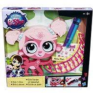 Littlest Pet Shop - Dekoratívne zvieratko ružové - Herný set