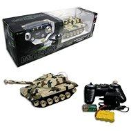 Tank na ovládanie s pásmi béžový - RC model