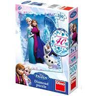 Ľadové kráľovstvo 200 dielikov - Puzzle