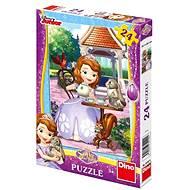 Sofia prvá: Zvieratká - Puzzle
