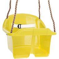 Hojdačka CUBS Basic plastová - žltá - Hojdačka