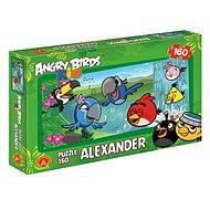 Angry Birds Rio - U vodopádu 160 dielikov - Puzzle
