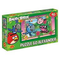 Angry Birds Rio - Ako z obrázku 60 dielikov - Puzzle