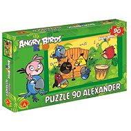 Angry Birds Rio - V rytme samby 90 dielikov - Puzzle