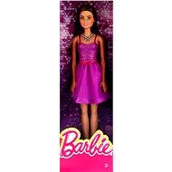 Mattel Barbie Brunetka vo fialových šatách - Bábika