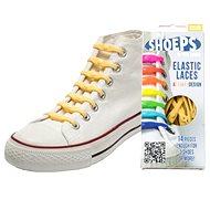 Shoeps – Silikónové šnúrky yellow sunny - Súprava šnúrok