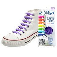 Shoeps - Silikónové šnúrky purple - Súprava šnúrok