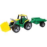 Traktor s lyžicou a prívesom - Auto