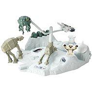 Hot Wheels - Star Wars hrací set s hviezdnou loďou Hoth - Herný set
