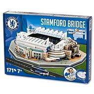 3D Puzzle Nanostad UK - Stamford Bridge futbalový štadión Chelsea - Skladačka