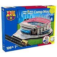 3D Puzzle Nanostad Spain - Camp Nou futbalový štadión Barcelona - Skladačka