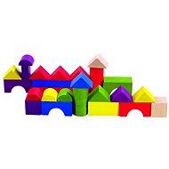 Detoa farebná stavebnica v krabici 100 ks - Stavebnica