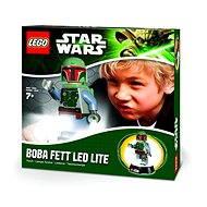 LEGO Star Wars Boba Fett baterka a nočná lampa - Svietiaca figúrka