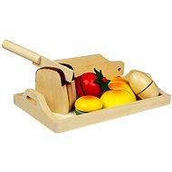 Drevené potraviny - Raňajky - Herný set