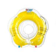 Plávací nákrčník Flipper žltý - Nafukovacia hračka