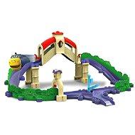 Chuggington - Set s mostom a tunelom - Vláčikodráha
