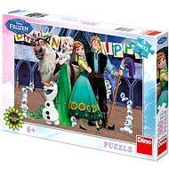 Ľadové kráľovstvo - Narodeniny - Puzzle
