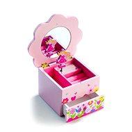 Šperkovnica - Kvetinová skrinka hrajúci - Herný set