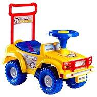 Odrážadlo auto Jeep Yupee, žlté - Detské odrážadlo