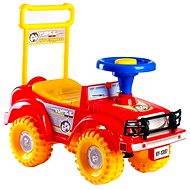 Odrážadlo auto Jeep Yupee, červené - Detské odrážadlo