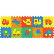 Penové puzzle - Dopravné prostriedky - Podložka do detskej izby