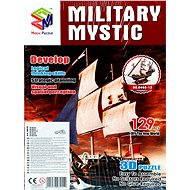 Trojvrstvové penové 3D puzzle - Historická plachetnica loď Mystic - Skladačka