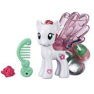 My Little Pony - Priehledný poník Blossomforth s trblietkami a doplnkom - Figúrka