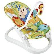 Mattel Fisher Price - Skladacie sedadlo Rainforest - Detské sedadlo