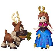 Ľadové kráľovstvo - Malá bábika Anna a Sven - Bábika