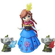 Ľadové kráľovstvo - Malá bábika s kamarátom Anna a Rock Trolls - Bábika