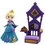 Ľadové kráľovstvo - Malá bábika Elsa s doplnkami - Bábika