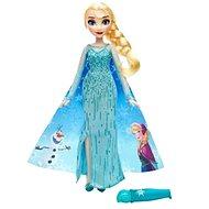 Ľadové kráľovstvo - Bábika Elsa s vyfarbovacie sukňou - Bábika