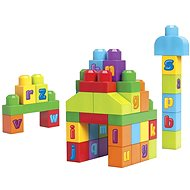 Mega Bloks - 1 2 3 ABC Kocky - Stavebnica