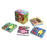 2D Puzzle - Microrobot poki - Skladačka