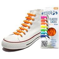 Shoeps – Silikónové šnúrky holandská oranžová - Súprava šnúrok
