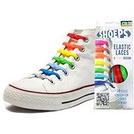 Shoeps – Silikónové šnúrky XL mix farieb - Súprava šnúrok