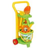 Wader - Vozík záhradníka s doplnkami - Súprava na piesok