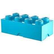 LEGO Úložný box 8 250 x 500 x 180 mm - azúrový - Úložný box