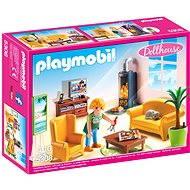 Playmobil 5308 Obývačka s krbom - Stavebnica