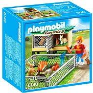 Playmobil 6140 Králíkárna s vonkajším výbehom - Stavebnica