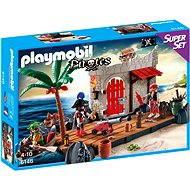 Playmobil 6146 Super Set Pirátska pevnosť - Stavebnica