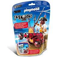 Playmobil 6163 Morský lupič s interaktívnym červeným kanónom - Stavebnica