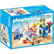 Playmobil 6660 Nemocničné izba s detskou postieľkou - Stavebnica