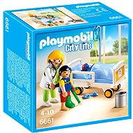 Playmobil 6661 Detská lekárka s pacientom - Stavebnica