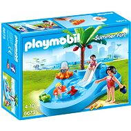 Playmobil 6673 Detský bazén so šmýkačkou - Stavebnica