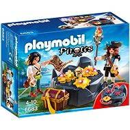 Playmobil 6683 Pirátska skrýša - Stavebnica